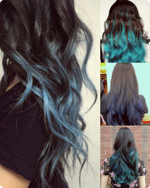 black-to-blue-ombre-color-hair-styles-2013