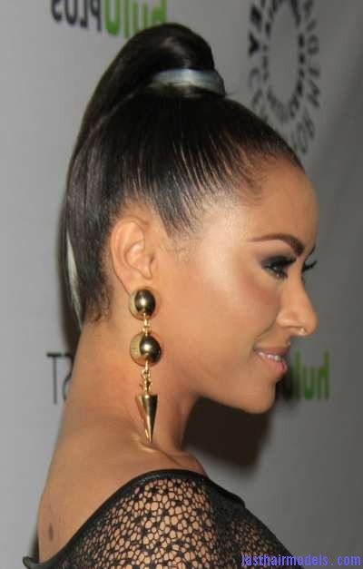 Kat-Graham-High-Ponytail-Hairstyles-2012-2