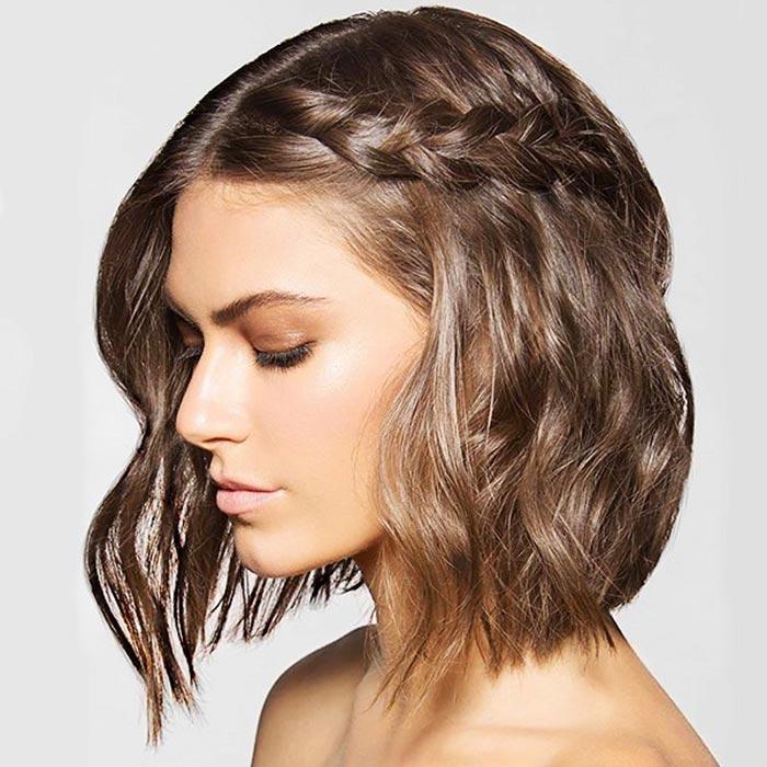 penteado-com-trança-cabelo-solto-curto