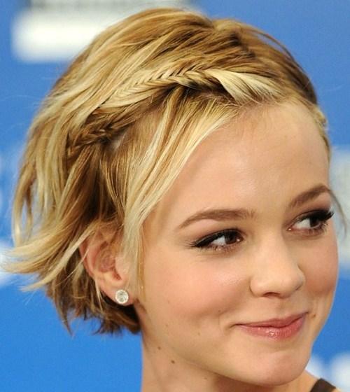 penteados lindos e simples para quem tem cabelo curto 2